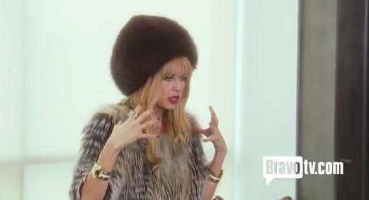 Rachel Zoe Fur Hat