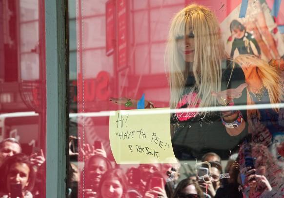 Betsey Johnson In Macy's Window