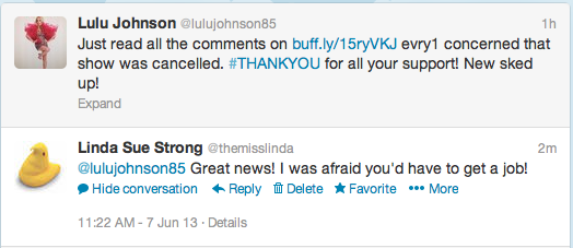 LuLu Johnson Twitter