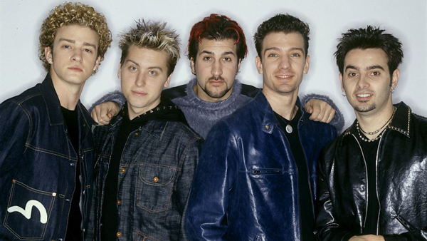 NSYNC old group shot