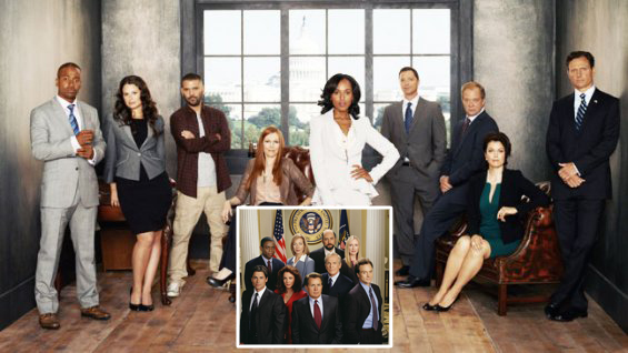 Scandal West Wing