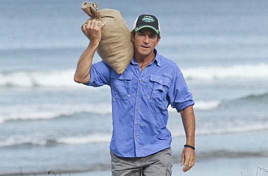 Jeff Probst Rice Delivery